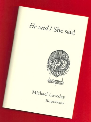Michael Loveday - pamphlet photo