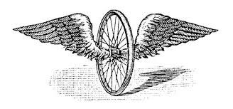 bicycle with wings